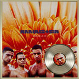 Album Herzeleid Disque de platine