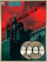 DVD Lichtspielhaus double Disque de platine