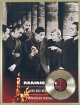 DVD Live aus Berlin platinum record