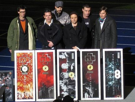 Rammstein receives a World Sales Awards