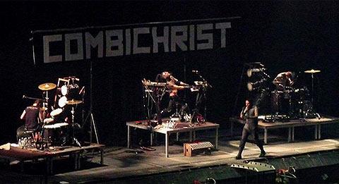 Combichrist sur scène
