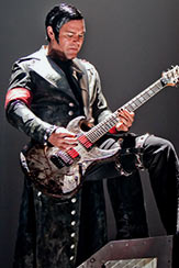 Le costume de Richard Z. Kruspe