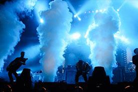 Colonnes de fumées