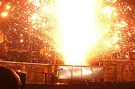 Explosions sur la baignoire