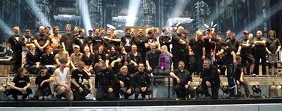 L'équipe Rammstein