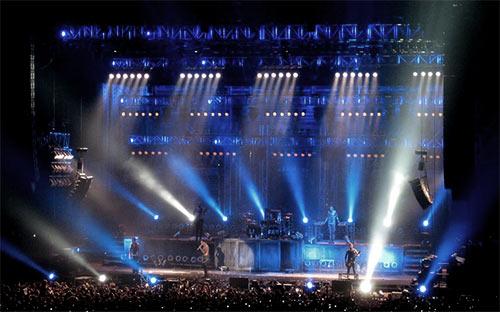 La scène de Rammstein en Amérique latine