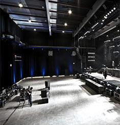 La salle où ont eu lieu les répétitions
