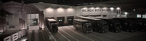 Les locaux de Black Box Music