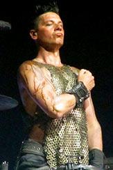 Le costume de Christoph Schneider
