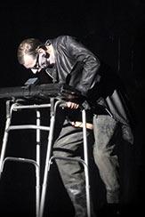 'Flake' et sa veste noire