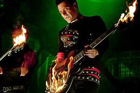 Guitares en feu