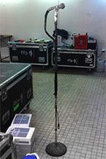 Le matériel FFP entreposé à Bercy
