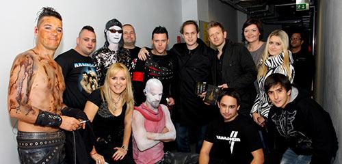 Rammstein world made in germany tour les fans meet greet avec rammstein bratislava m4hsunfo