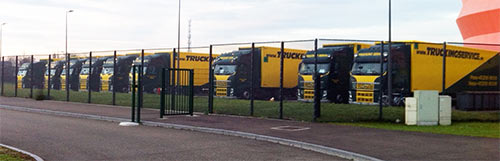 Les camions du Made In Germany tour