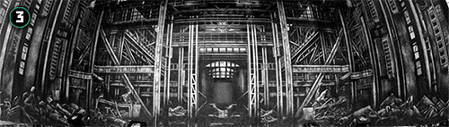 Le troisième rideau, industriel