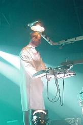 Le costume couche de Christian 'Flake' Lorenz