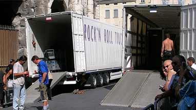 Les camions du Reise, Reise tour