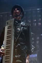 Le costume de Christian 'Flake' Lorenz