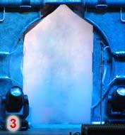 La porte centrale