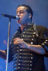 Le costume de Till Lindemann