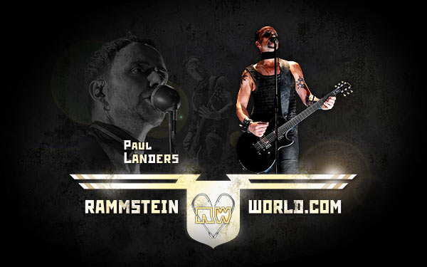 Rammstein World wallpaper Lifad tour Paul