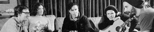 Une photo promotionnelle de Rammstein pendant la période de Liebe ist für alle da