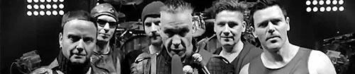 Rammstein pendant un concert du MIG tour