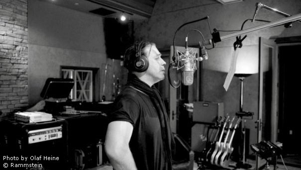 Till Lindemann en studio