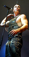 Till Lindemann lors du Mutter tour
