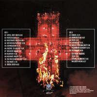 Pochette arrière de l'album Live aus Berlin édition limitée