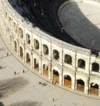 Third and last concert in Nîmes, France