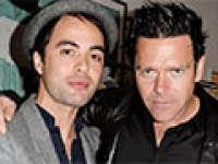 Christoph et Richard à une exposition d'Olaf Heine