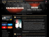 Welcome to the new version of Rammstein World!