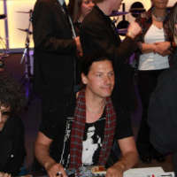 Christoph au Musikmesse 2011, Photo @ Vkontakte.ru