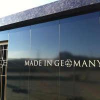 L'extérieur du mausolée Rammstein
