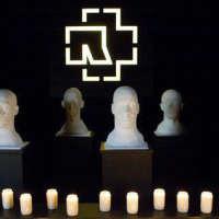 L'intérieur du mausolée Rammstein