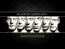 Rammstein World wallpaper Made In Germany 1