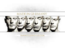 Rammstein World wallpaper Made In Germany 2