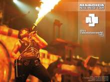 Rammstein World wallpaper Reise, Reise tour 1