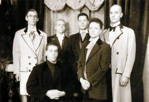 The first known picture of Rammstein