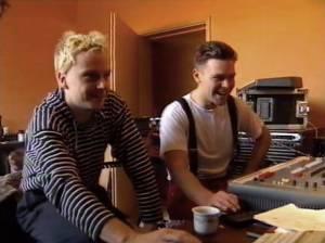 Rammstein in Studio in 1994