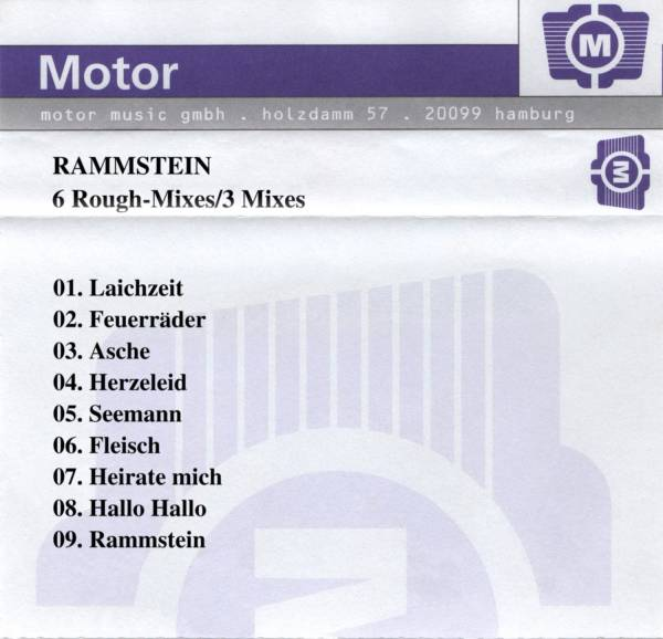 Cassette démo de 9 pistes