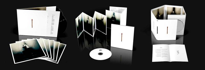 The 3 physical editions of the album