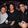 Paul, Christoph et Till dans le public