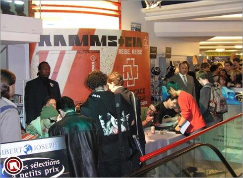Rammstein world galerie d dicace paris le 01 octobre 2004 for Chambre criminelle 13 octobre 2004