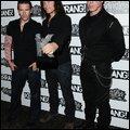 Richard, Christoph et Till aux Kerrang! Awards 2010