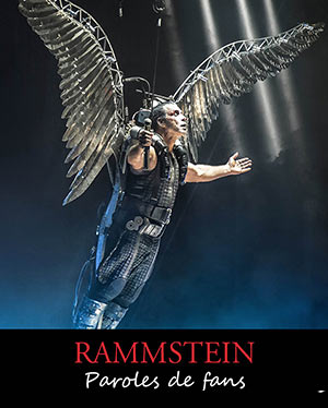 "New French book about Rammstein: ""Paroles de fans"""