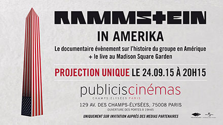 Concours Rammstein In Amerika Publicis
