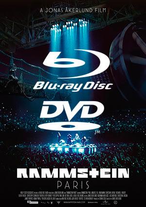 Infos sur les DVD et Blu-ray de Rammstein: Paris