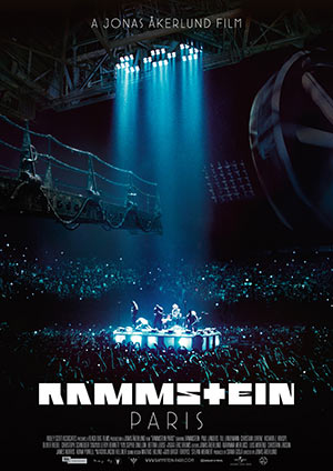 "Official - ""Rammstein: Paris"" in cinemas on March 23rd"